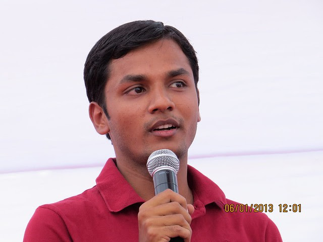 """Apurva Jain at Bhoomi Poojan of Sanjeevani Parth Developers' """"Davabindu"""" at Sus Gaon, Pune"""