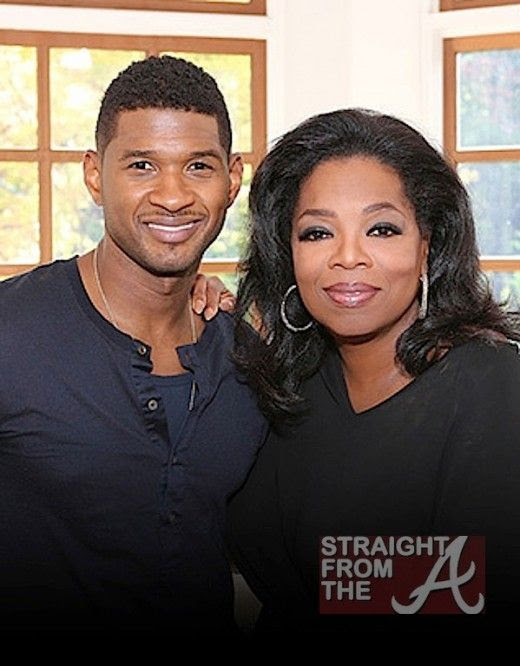 Oprah's Next Chapter (September  2012), Usher, Oprah Winfrey