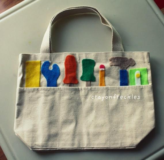 Little Boy Toolbox Bag