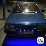 neon-xanh-đèn LED