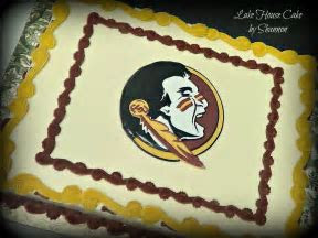 16 best FSU Cakes images on Pinterest   Anniversary cakes