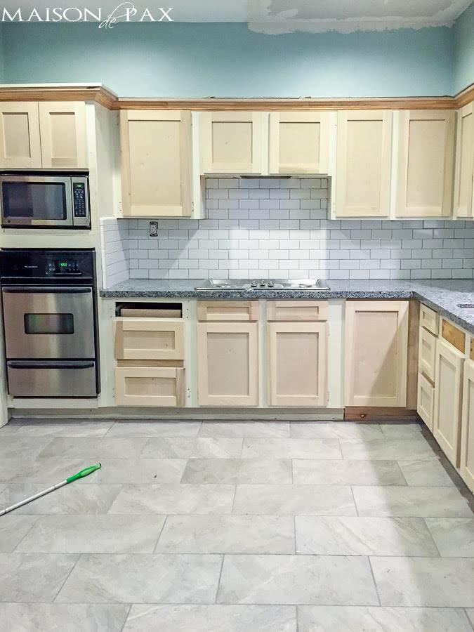 Refacing Kitchen Cabinets - Maison de Pax