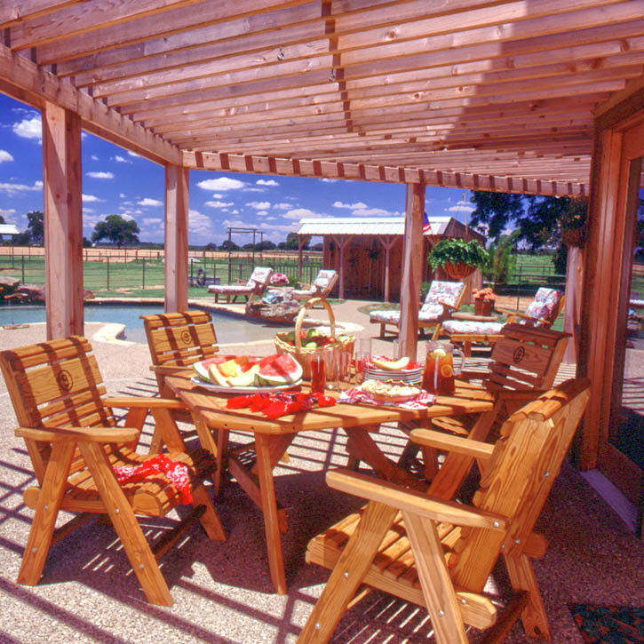 outdoor living « Real Log Style
