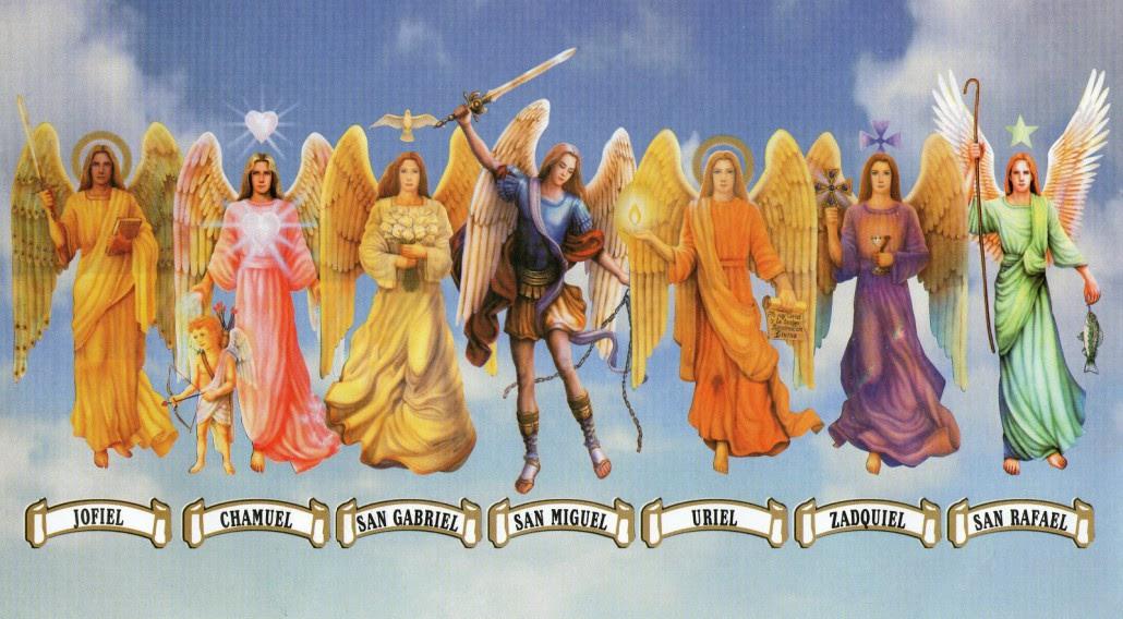 Angeles y Meses Los 12 Angeles 12 Meses LOS 7 ARCANGELES Arcangel Chamuel Arcangel Gabriel Arcangel Jofiel Arcangel Miguel Arcangel Rafael Arcangel Uriel Arcangel Zadquiel