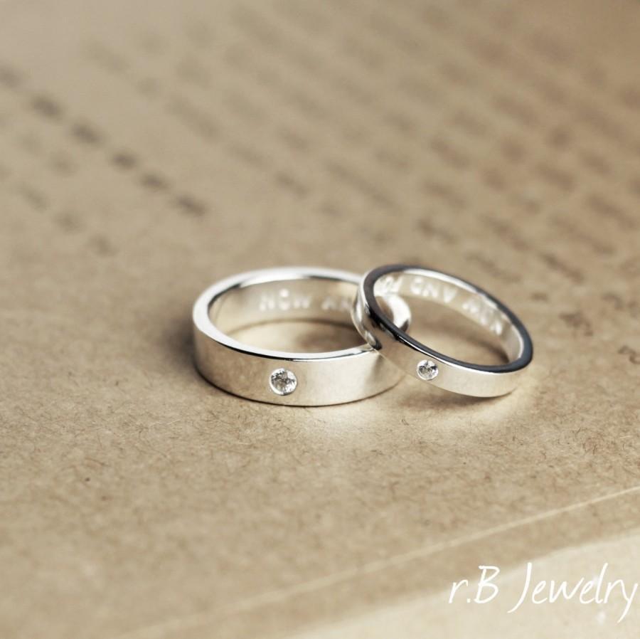 Gnzoe 2PCS Couples Necklace Men Women Stainless Steel Rectangle Romantic Cubic Zirconia Pendant Necklace Black Rose Gold