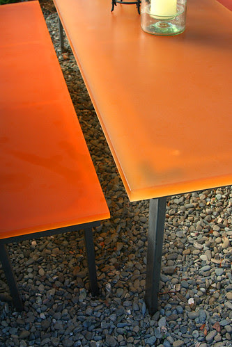 resin table detail