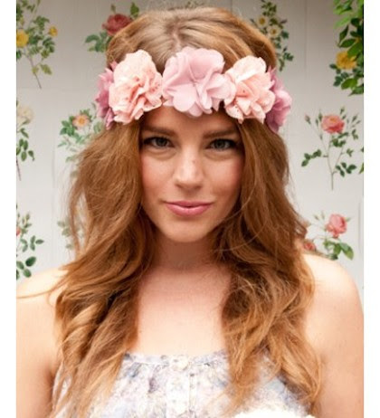 Headmistress Spring Sunset Floral Crown