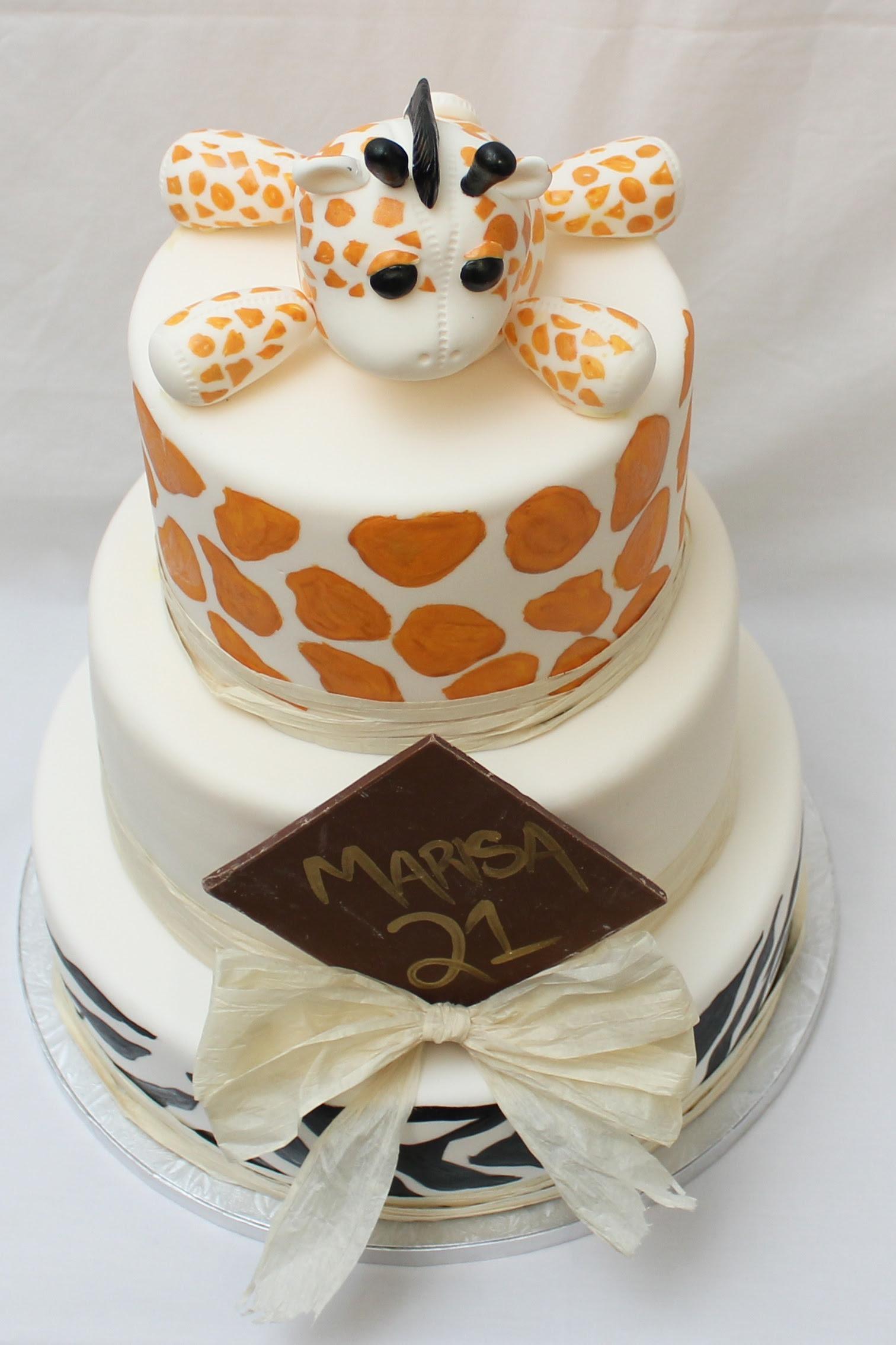 African Themed Birthday Cake By Www.forcakessakenz.com ...