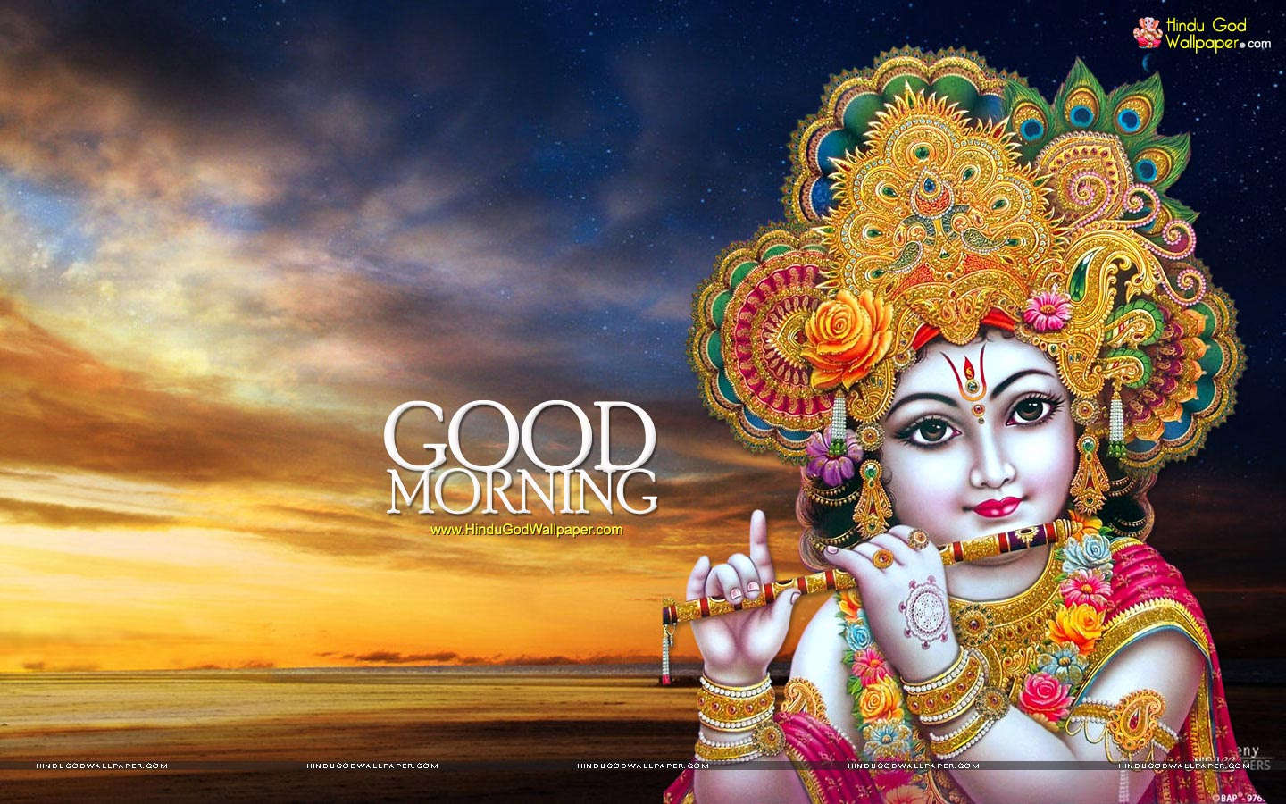 Lord Krishna Good Morning Hd Images Radha Krishna Good Morning