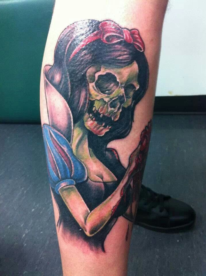 Scary Snow White Tattoo Tattoomagz