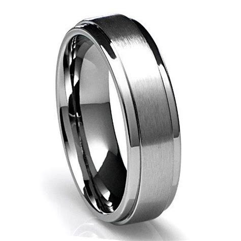 mens  platinum wedding band ring mm wide sizes