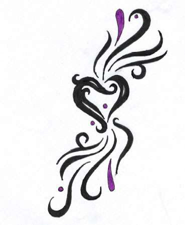 Heart Tattoo Designs Gallery 31