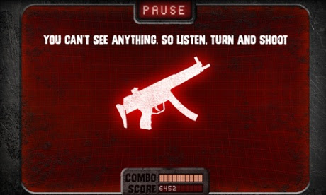 Audio Defence: Zombie Arena is an audio-only game for iOS.