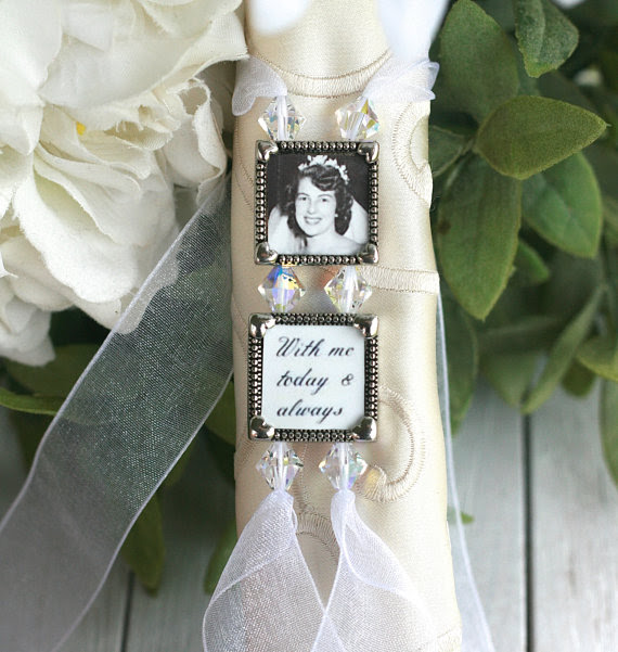 Bouquet Charm Wedding Bouquet Charm Bridal Bouquet Charm Memory