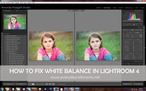 CoffeeShop LR White Balance Tutorial Feature