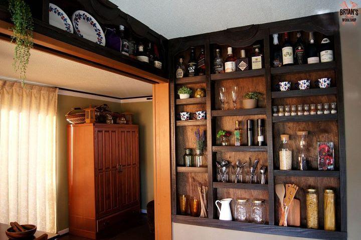 Built-in Kitchen Wall Shelves!   Hometalk