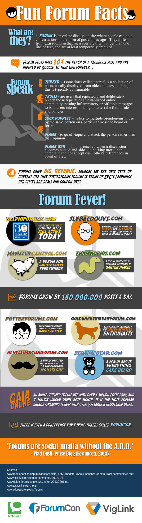 Online Forums Offer Hidden Opportunities for Marketers - #infographic