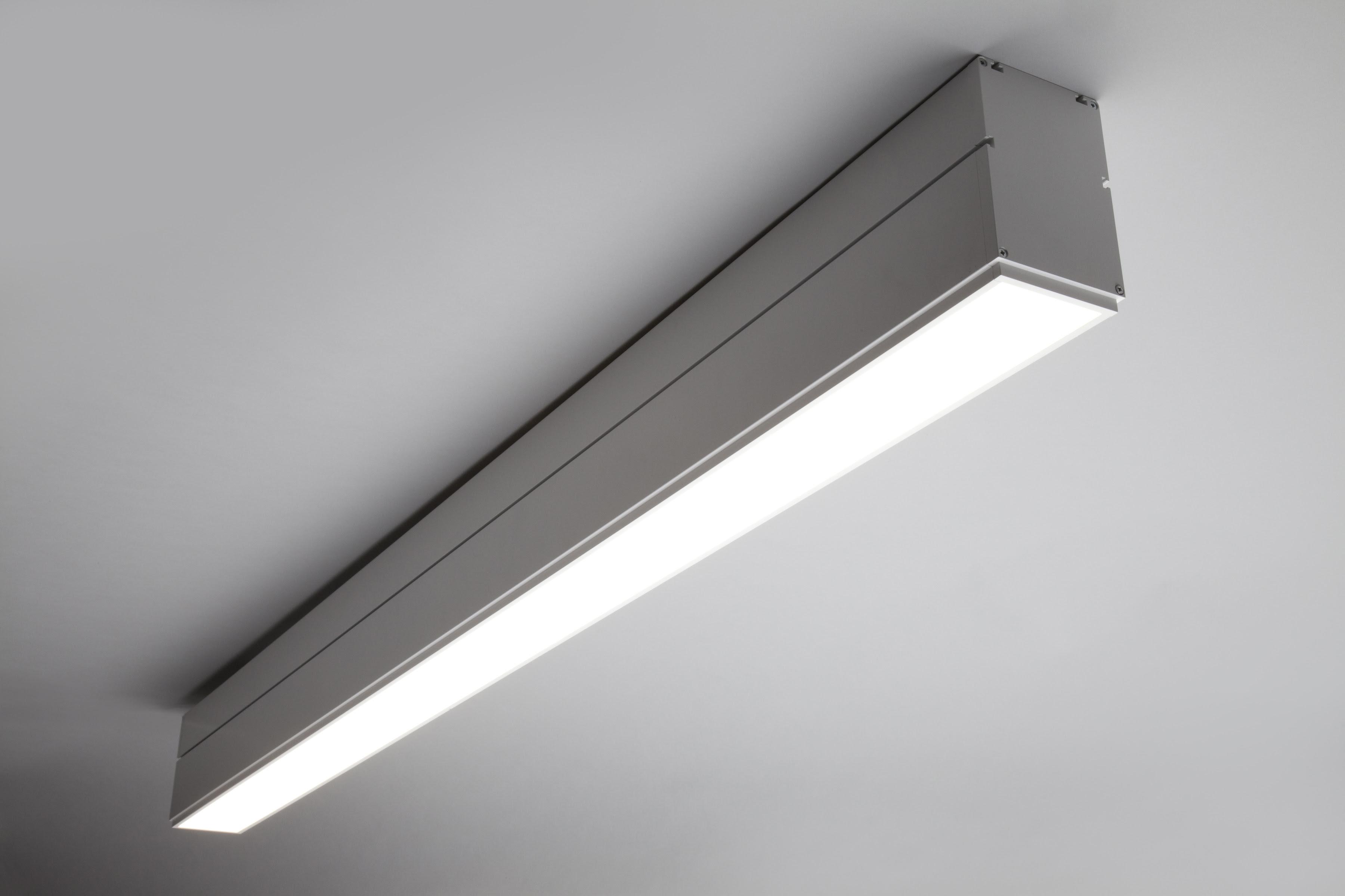 Architectural Linear Suspension Lighting Commercialgrade U S
