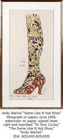 Warhol Some Like it Hot Shoe