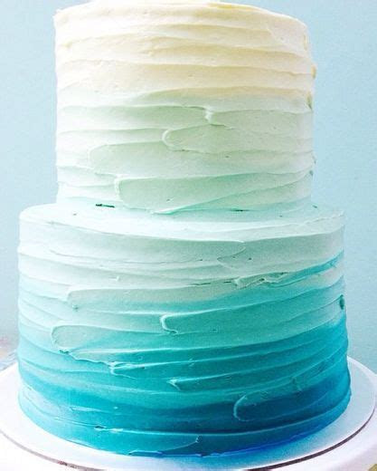 """50 Ombre Wedding Cakes That Are Sexier Than """"Fifty Shades"""