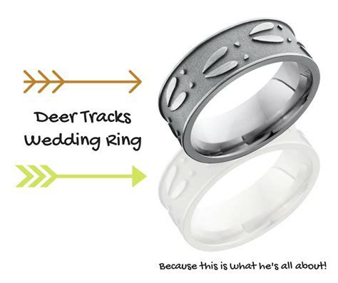 Top Deer Hunter Wedding Bands for Men   CAMOKIX