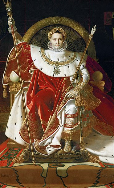 Archivo: Ingres, Napoleón en su throne.jpg Imperial