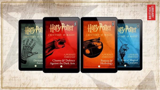 Pottermore anuncia 4 novos livros de Harry Potter