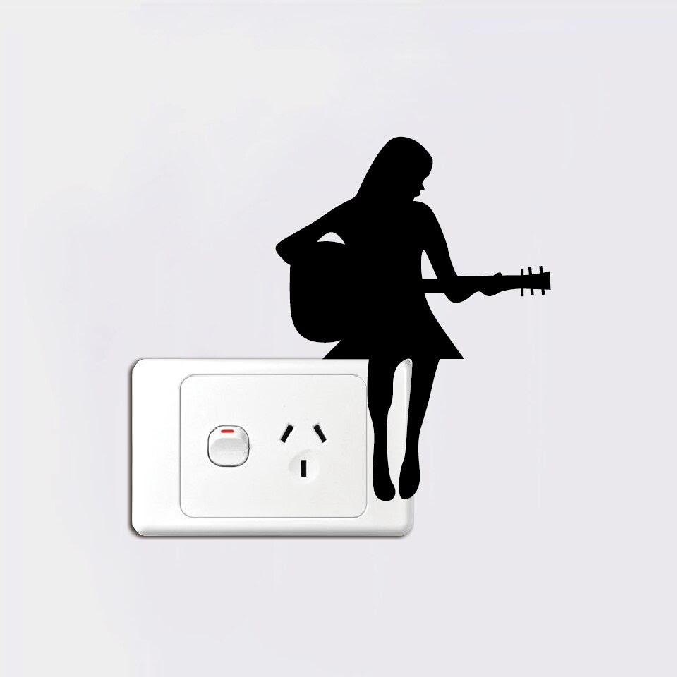 740 Koleksi Gambar Hitam Putih Orang Main Gitar Terbaik