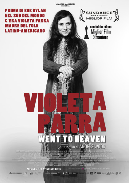 Locandina italiana Violeta Parra - Went To Heaven