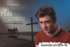 Daniel Radcliffe talks with Daniele Rizzo about The Woman in Black