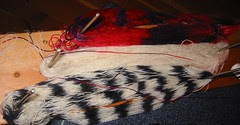 My striping yarn