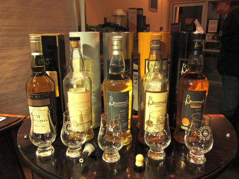 Benromach-Whisky-Tasting