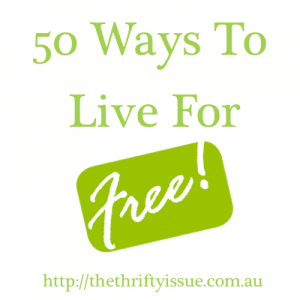 50 ways to live for free
