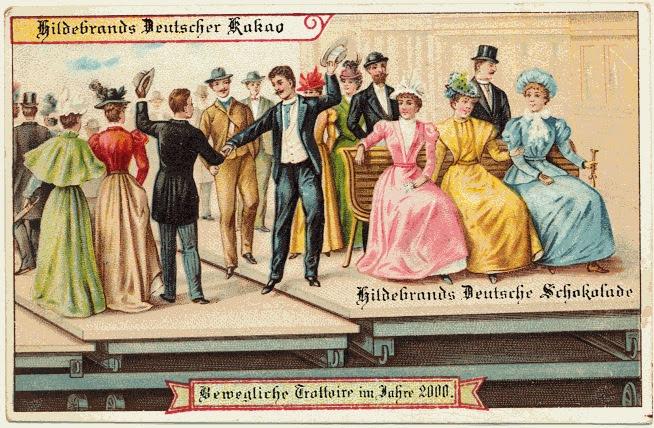 carte postale 2000 futur 02 En 1900, des cartes postales imaginent lan 2000  histoire featured design