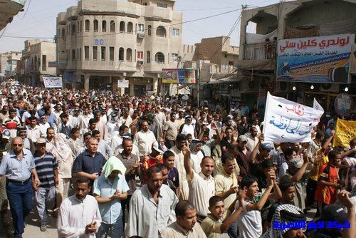 protests in nasiriyah 2