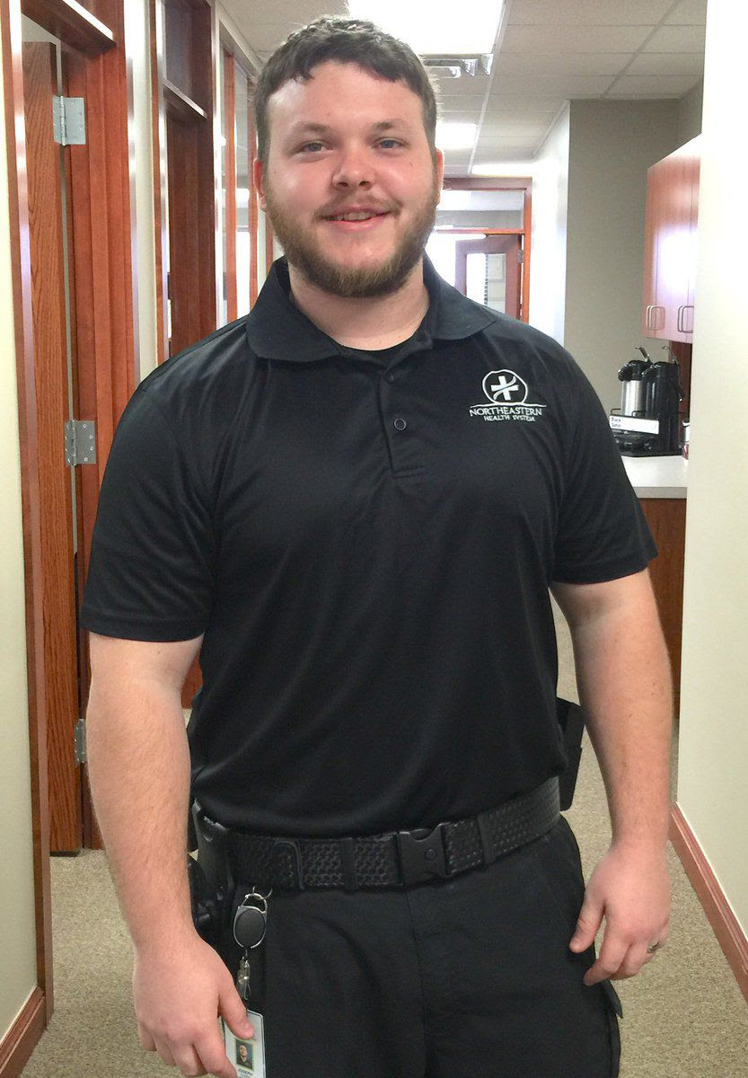 NHS security guard scores ninth in nation in fitness challenge