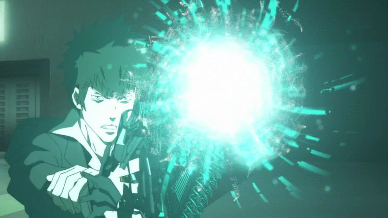 Psycho Pass サイコパス 第3話 ドミネーターの破壊力ハンパじゃな