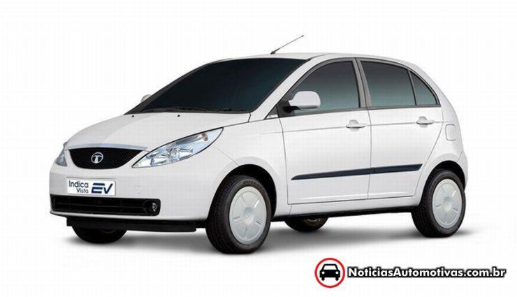 tata indica eletrico Saab: Tata Motors está interessada na sueca falida?