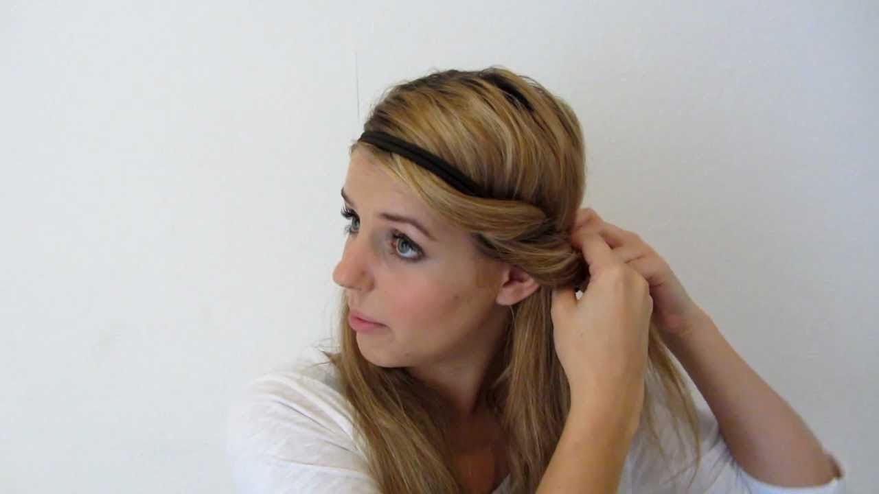 Haarband Frisuren Steckfrisuren