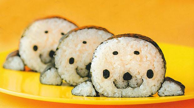 ซูชิแสนน่ารัก แมวน้ำ