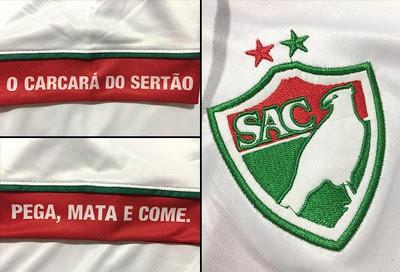 Montagem Camisa Salgueiro (Foto: Globoesporte.com)