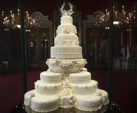 Kate Middleton's Eight Tiered Wedding Cake Slice Fetches £