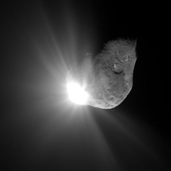 The comet (named 9P/Tempel 1) that the Impactor smashed into during the Deep Impact mission in 2005.