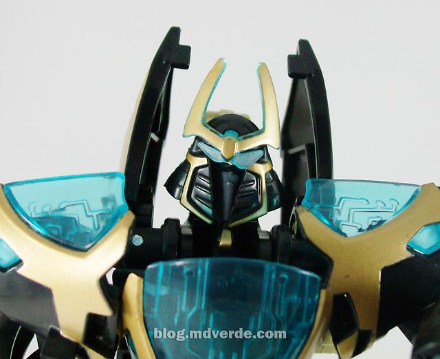 Transformers Samurai Prowl Animated Deluxe Takara - modo robot