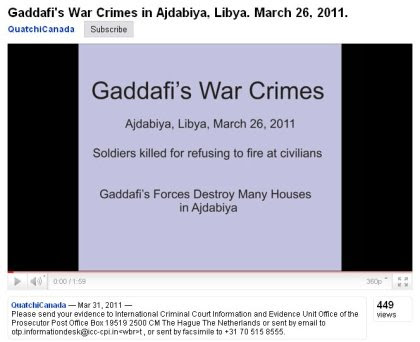 Screenshot: Victims of Ajdabiya NATO massacre presented by QuatchiCanada intro