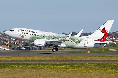 Air Niugini Boeing 737-7L9 WL P2-PXD (msn 28007) (Kokoda Trail) SYD (John Adlard). Image: 911432.