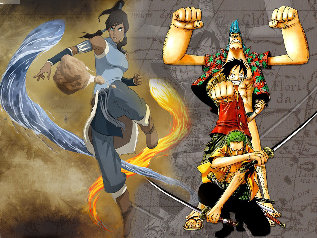 Avatar The Legend Of Korra One Piece Avatar The Legend Of