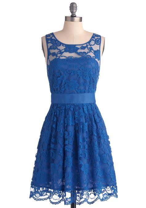 Blue Lace Dress   DressedUpGirl.com