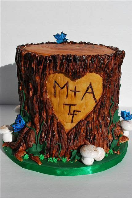 Tree Stump Cake   Treats   Cake, Tree stump cake, Redneck