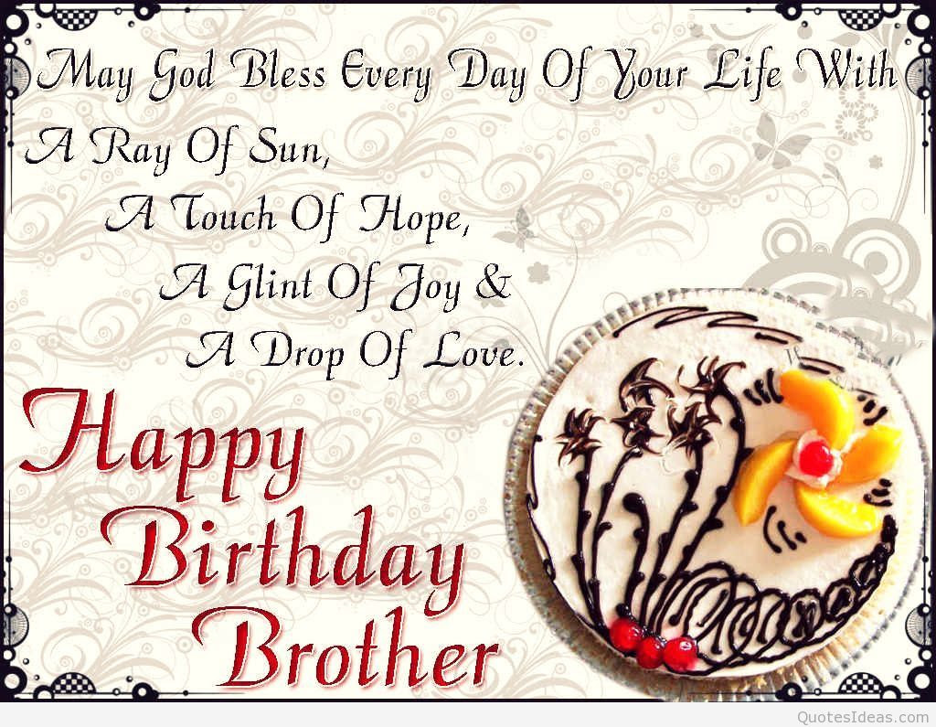 Imágenes De Birthday Quotes For Brother From Sisters